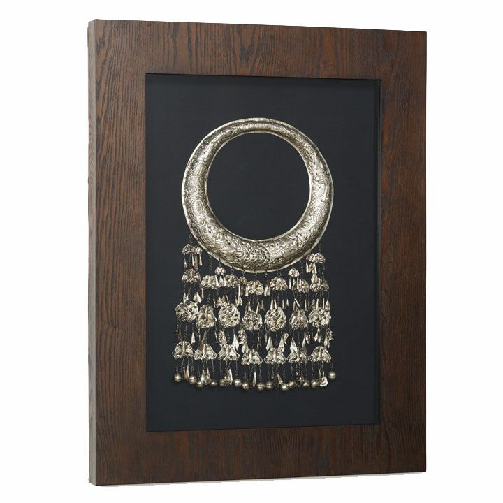 0e3c73c909d4 Miao Silver Decorative Necklace in Frame. This elaborate necklace is a fine  example of the silver jewellery that is produce in China by the Miao people.