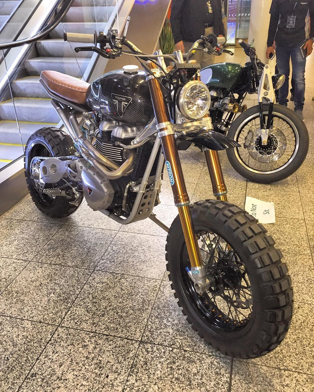 Triumph Tfc2 Scrambler Factory The Best Scrambler Custom