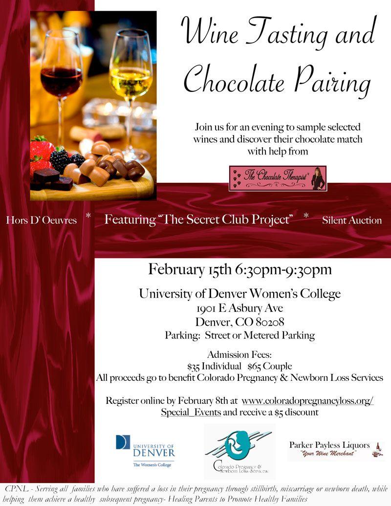 The Chocolate Therapist Wine Tasting Chocolate Pairings Wine And Beer