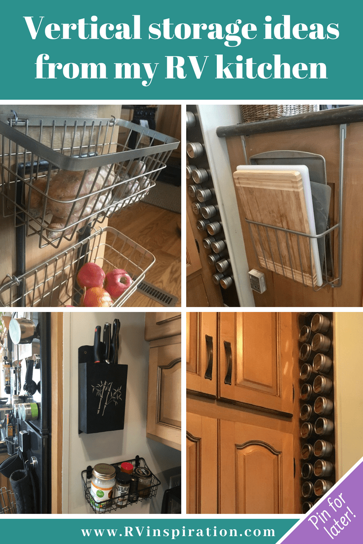 25 Storage Tips & Ideas for Organizing RV Kitchens | Rv ...
