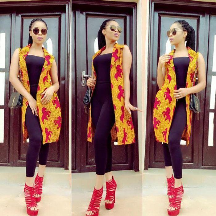 911aca1bedd3 Recent pictures of Ankara jacket designs - 2018
