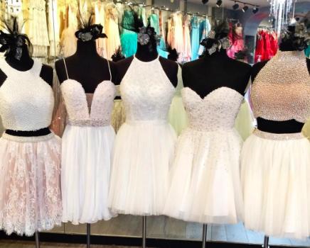 Short Sherrihill Dresses Wedding Reception Dresses