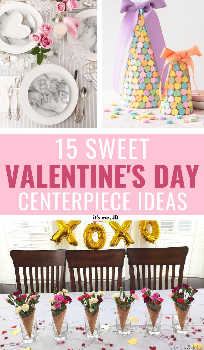 15 Sweet Valentine's Day Centerpiece Ideas To Celebrate ...
