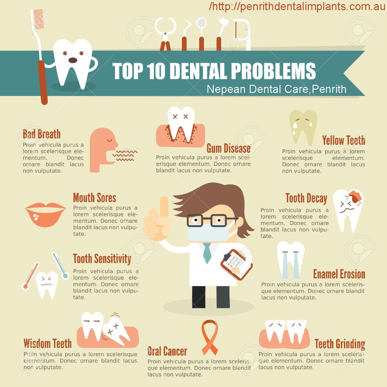 Top 10 Dental Care Problems With Nepean Dental Care Dentistry