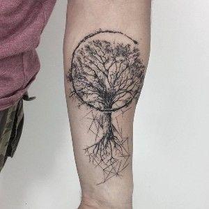 Tatuaje En El Brazo De Arbol De La Vida Tatuaje De Arbol Para Hombres Tatuaje De Raices Tatuaje Arbol De La Vida