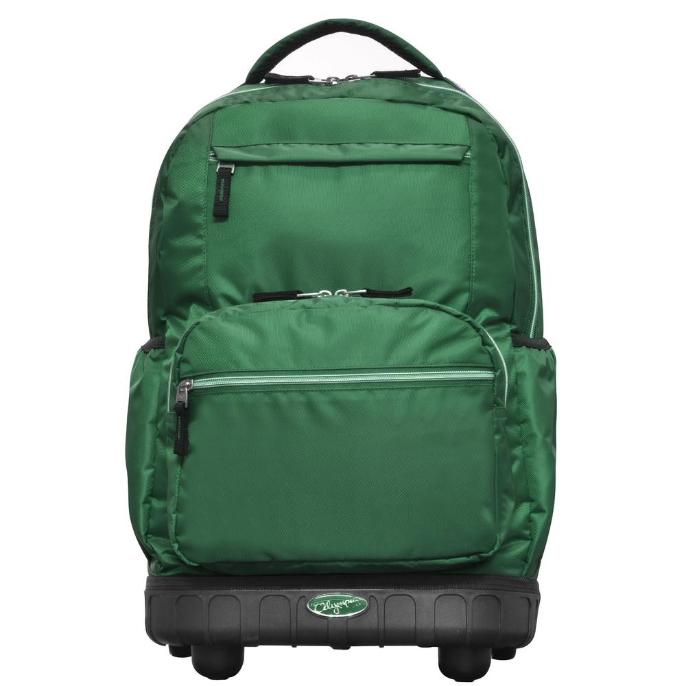 cba44629a2 Olympia USA Melody 19 in. Green Rolling Backpack | Products ...