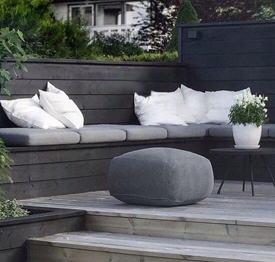 Große Sitzkissen sitzkissen und pouf für balkon und terrasse große auswahl bei