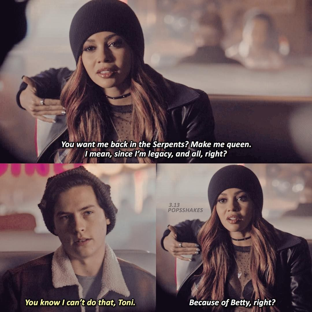 Riverdale On Instagram 3 13 In The Sense Of This Conversation Jughead Or Toni Riverdale Funny Riverdale Quotes Riverdale Cast