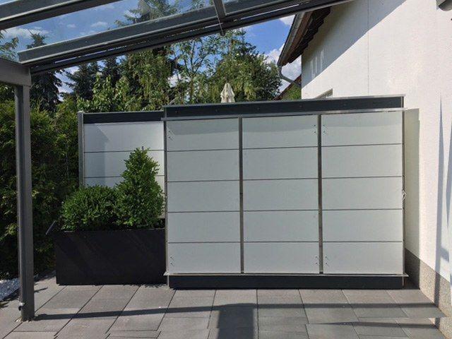 Sichtschutz Schrank Fur Ihre Terrasse Gartenschrank Gartenhaus Modern Design Gartenhaus