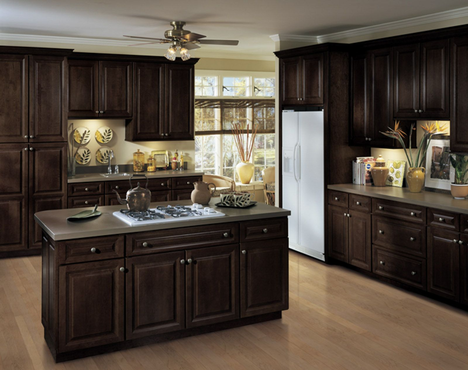 buy modern kitchen cabinets online countertop laminate echelon cabinetry langdon 5pc espresso home pinterest
