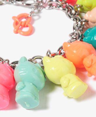 O Kitty Onch Movement Charm Bracelet Forever 21 1030187605