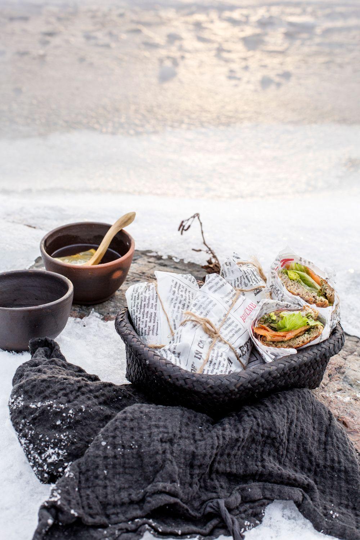 Lähde talviselle retkelle! Postaus blogissa. Stailaus ja reseptit: Jatta Heinlahti / Minna Lilja, kuvat: Johanna Levomäki