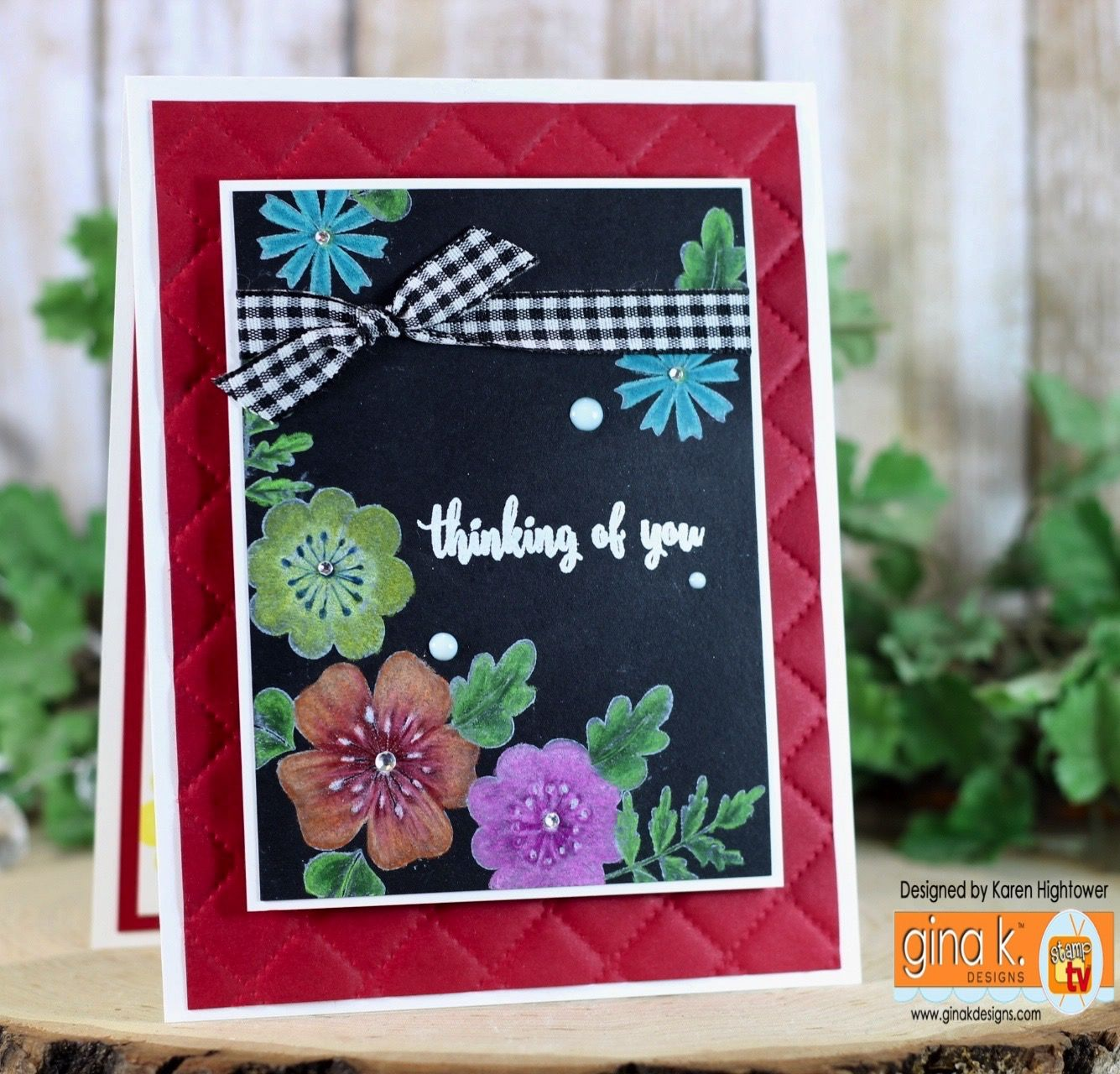 Stamp Tv Kit Addicts Friday Funday Tutorial Black Magic Making