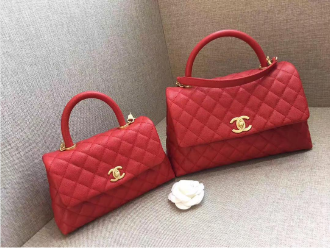 78ac9f2840a002 Chanel Red Mini and Small Coco Handle Bags | Quick Saves in 2019 ...