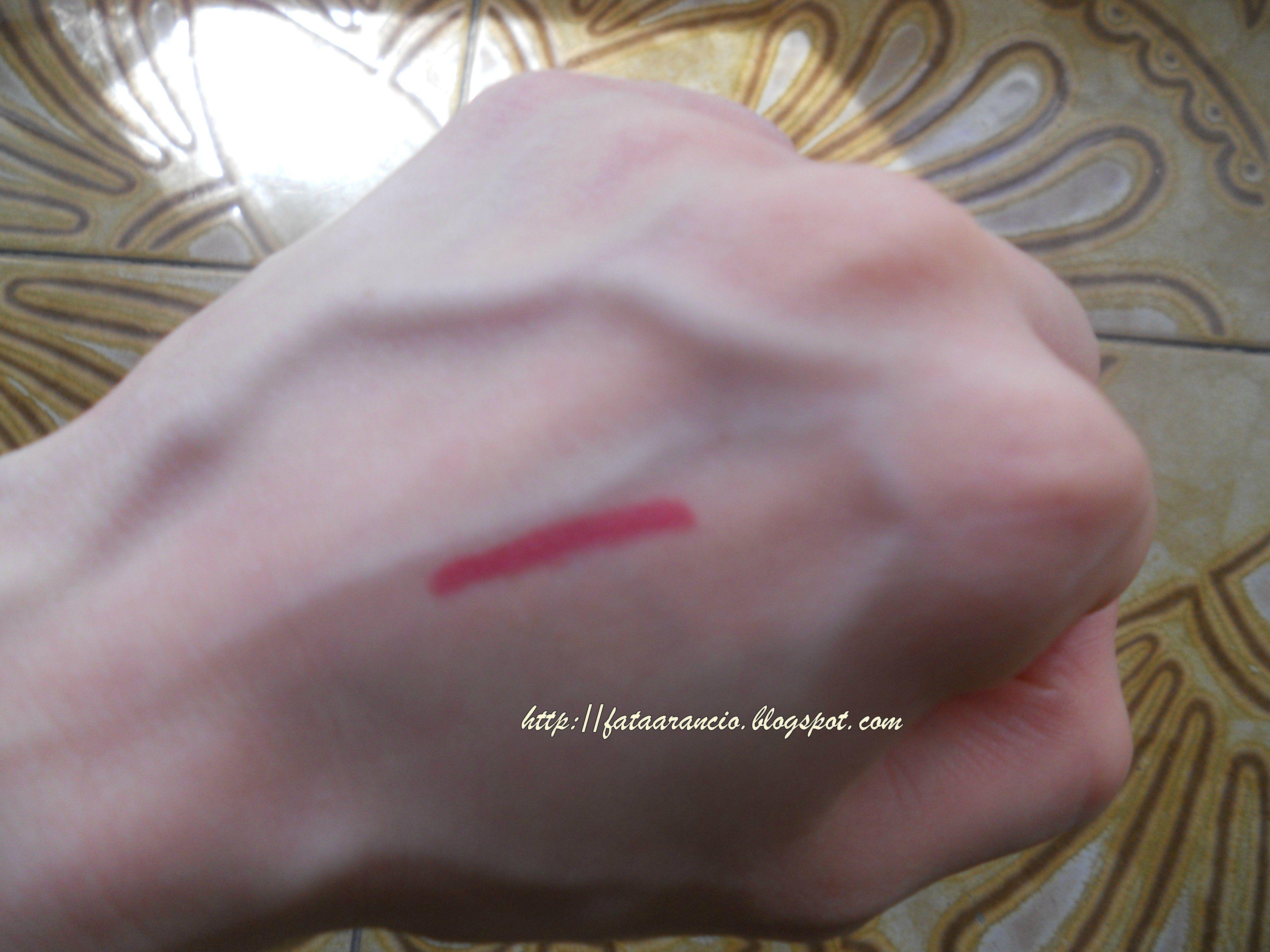 Neve Cosmetics-Pastello labbra Orchidea (swatch) #nevecosmetics