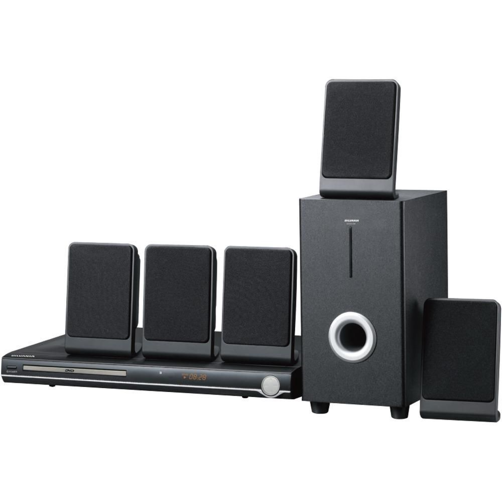 Sylvania 5.1-channel Dvd Home Theater System #hometheatertips | Home ...