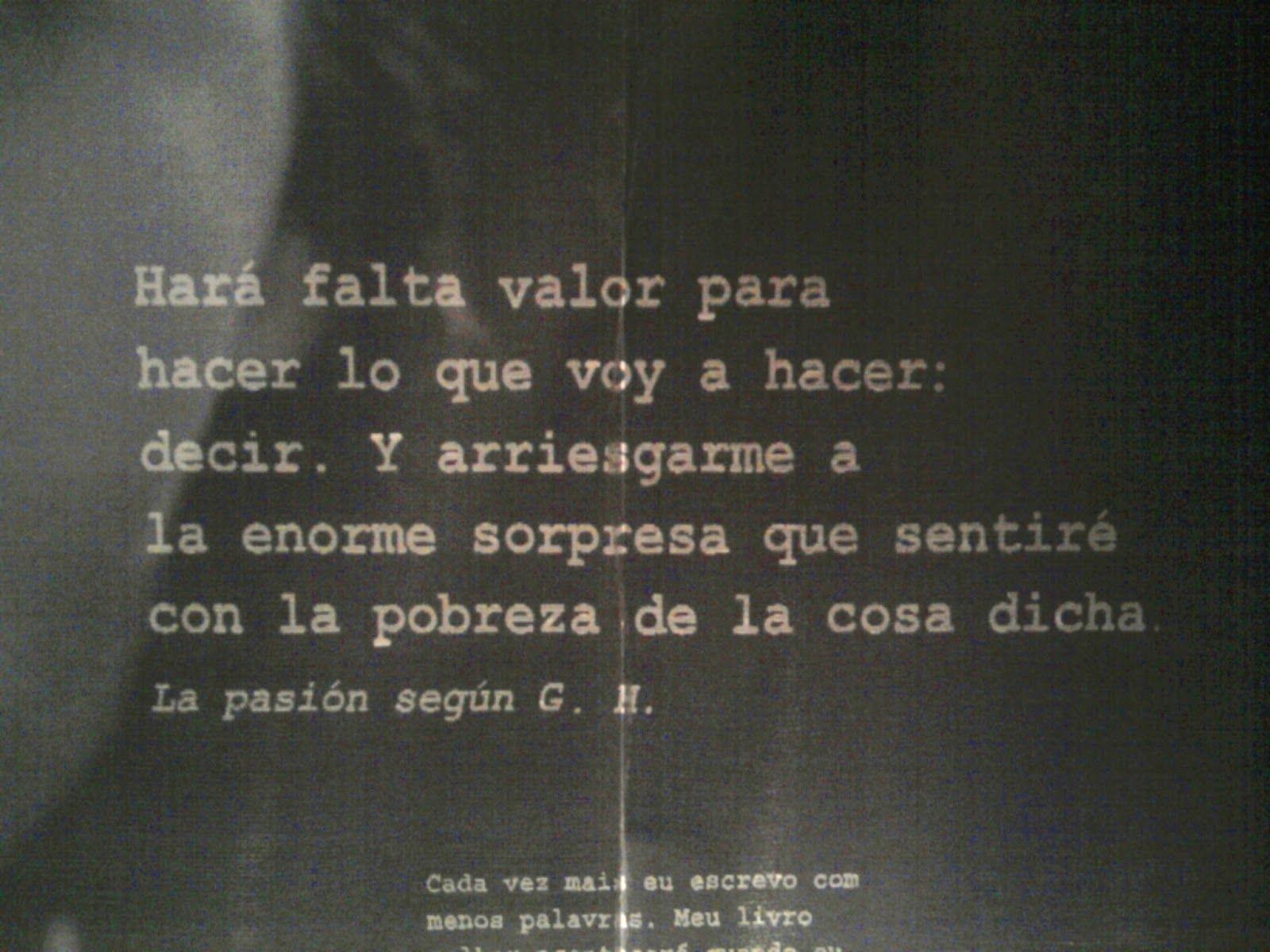 Clarice Lispector Frases En Español Buscar Con Google Voces De