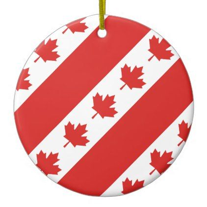 Canada Ceramic Ornament | Zazzle.com | Ornaments ...