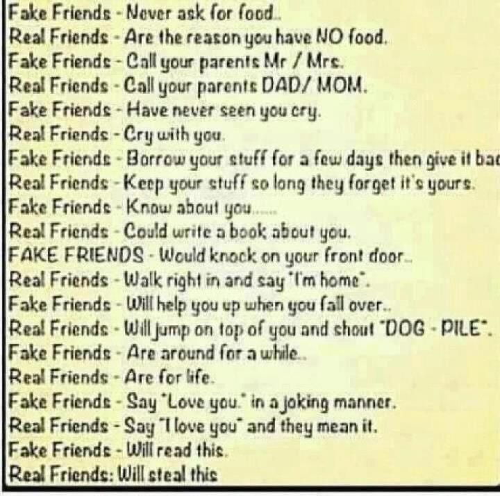 Poems About Fake Friendship 5