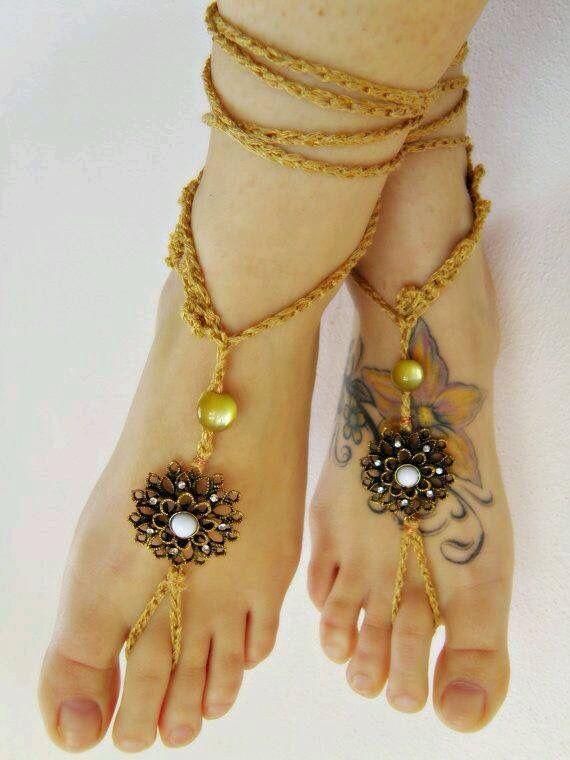 Oh so pretty! #gypsy #barefootshoes