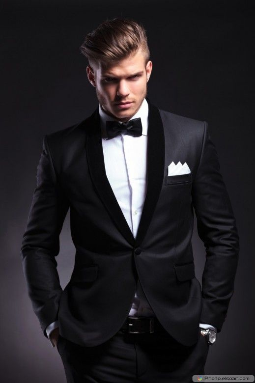 Elegant Young Fashion Man