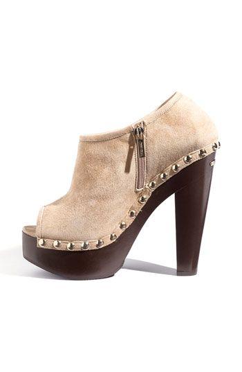 ec0b90ef66812 Jimmy Choo 'Urge' Peep Toe Clog Bootie | SHOES! | Clogs, Shoes ...