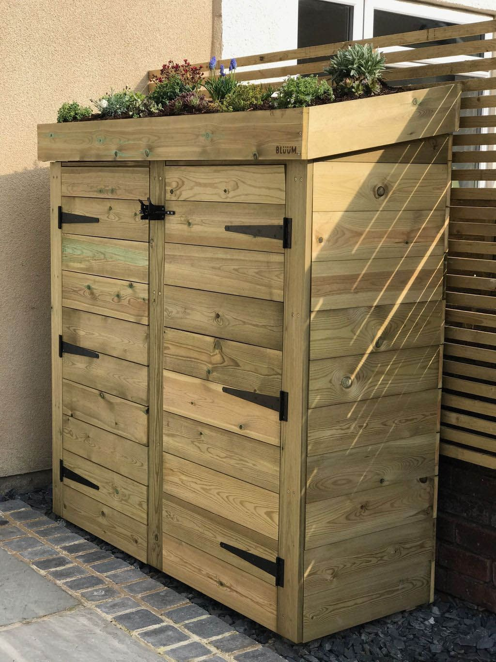 Artistic Patio Area Storage Space Ideas Garden Shed Diy Small