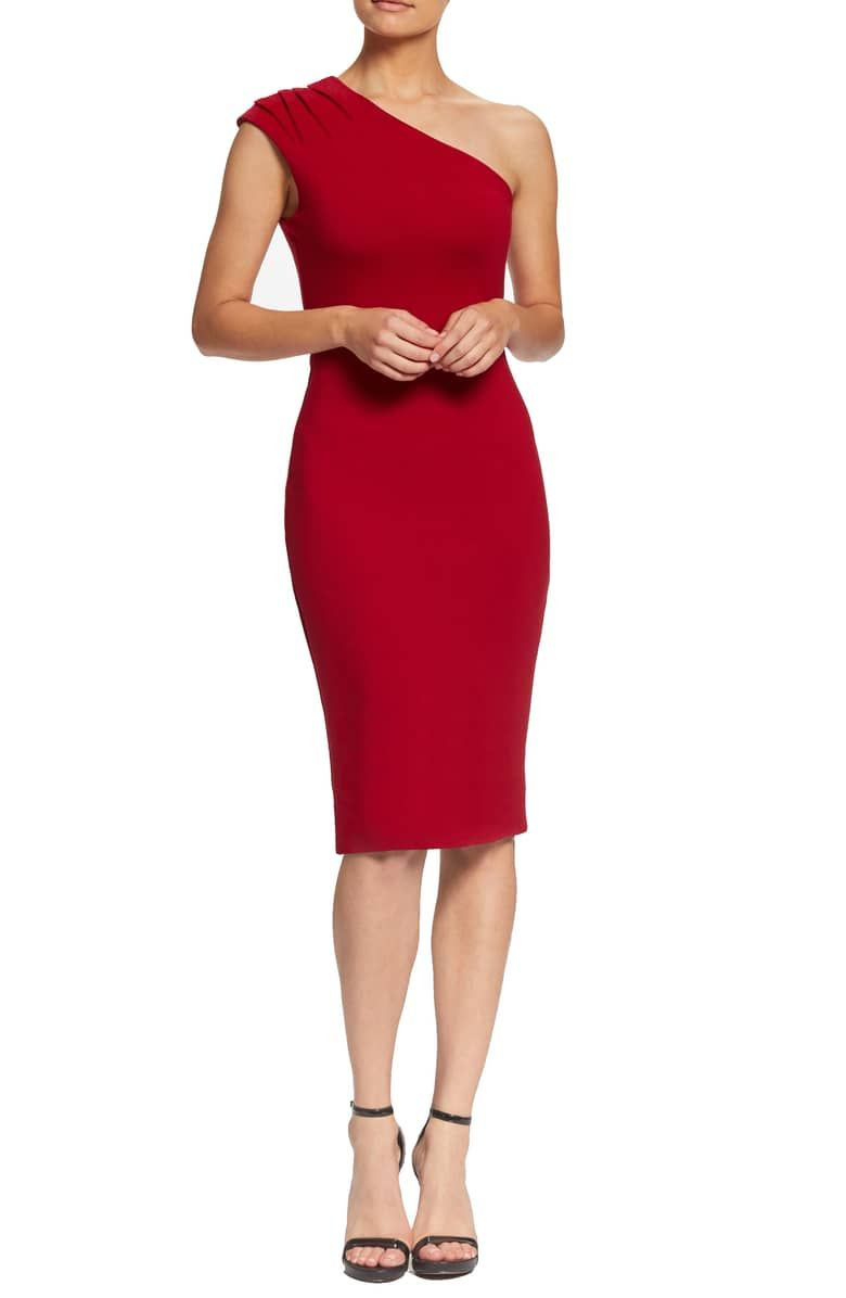 11f5e3b20b79 Quinn One-Shoulder Body-Con Dress