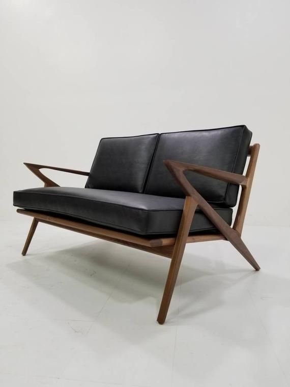 Mid Century Selig Style Z Loveseat in 2019   Products   Sofa, Mid ...