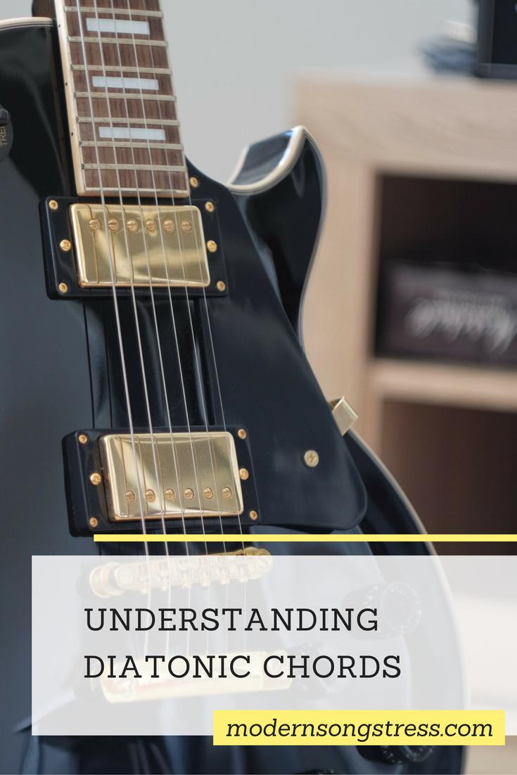 Understanding Diatonic Chords Modern Songstress Music Theory