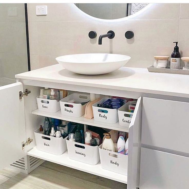 "Chaos Cleared on Instagram: ""Putting like items ... - #bathroomsinks #Chaos #C...#bathroomsinks #chaos #cleared #instagram #items #putting #cabinetorganization"