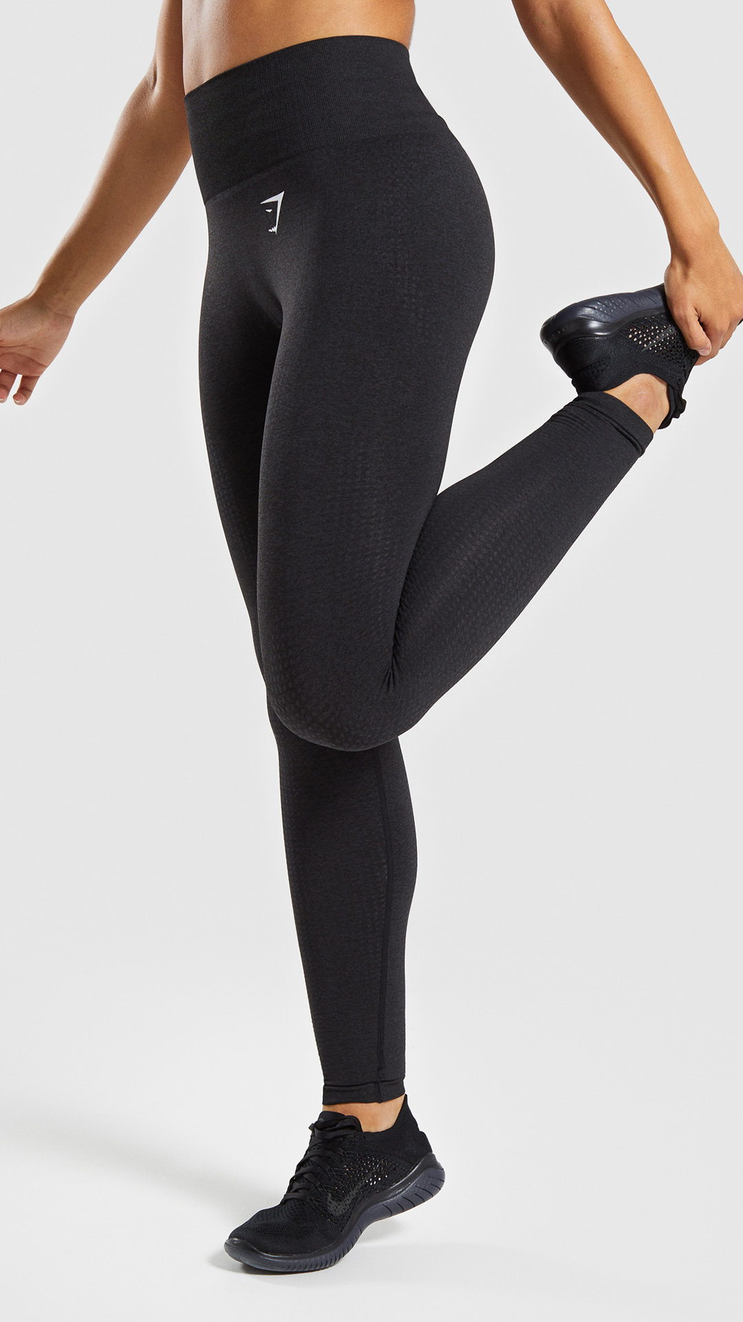 a4dbce4800861d Vital Seamless Leggings, Black. Figure enhancing, sweat wicking with DRY  technology and empowering. #Gymshark #Gym #Sweat #Train #Perform #Vital ...