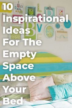 There's so many things you can do with that empty space and make it reflect your personality. Check out this inspiration to help you make your space feel more like home. #emptyspace #homedecordiy #walldecoration #wallhanging #apartmentdecor #rentalapartmentdecorating