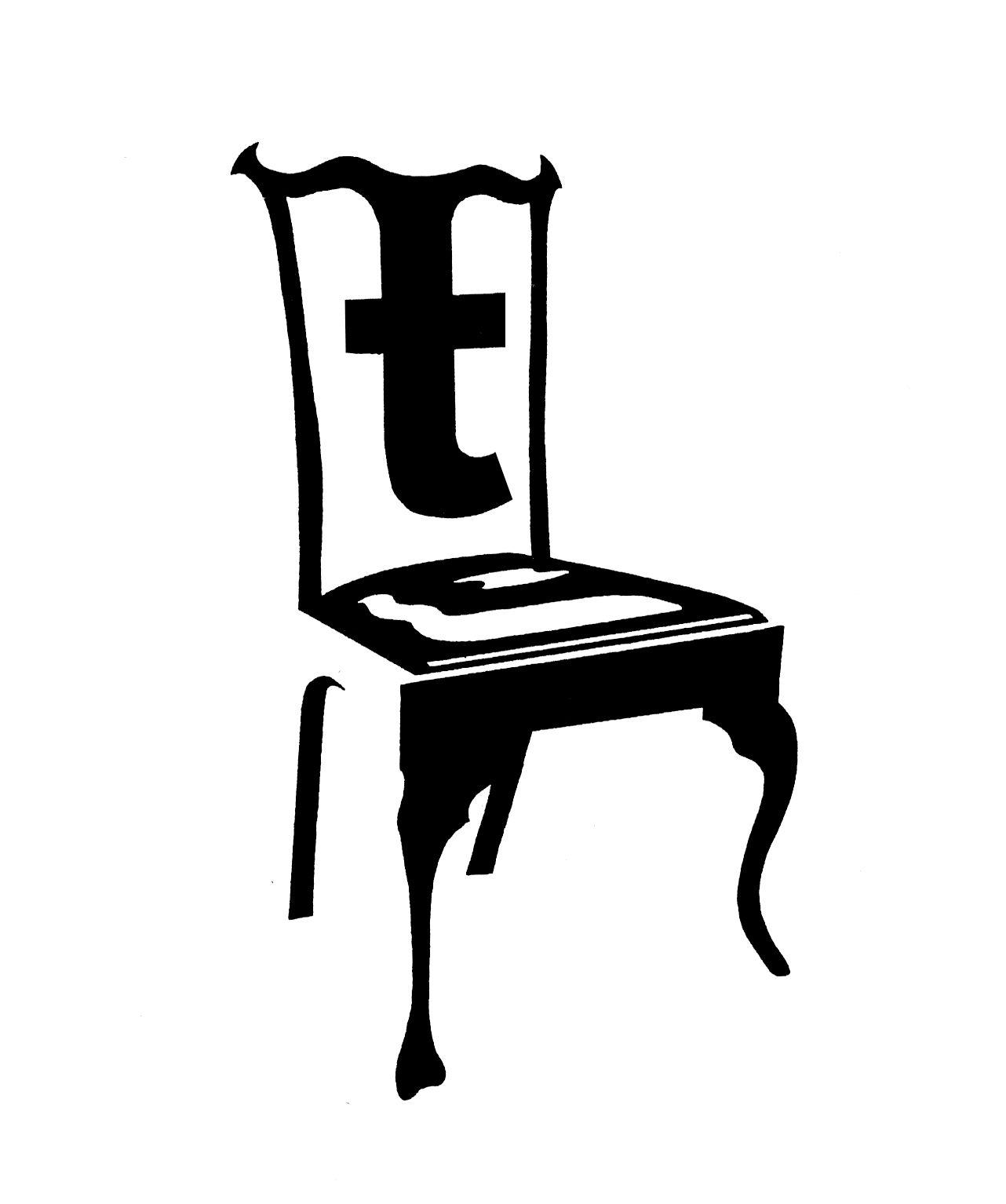 Chair logo Logos Pinterest