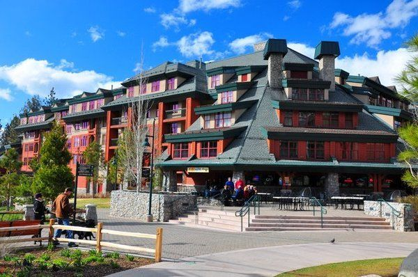 Marriott Timber Lodge at the Heavenly Gondola in the