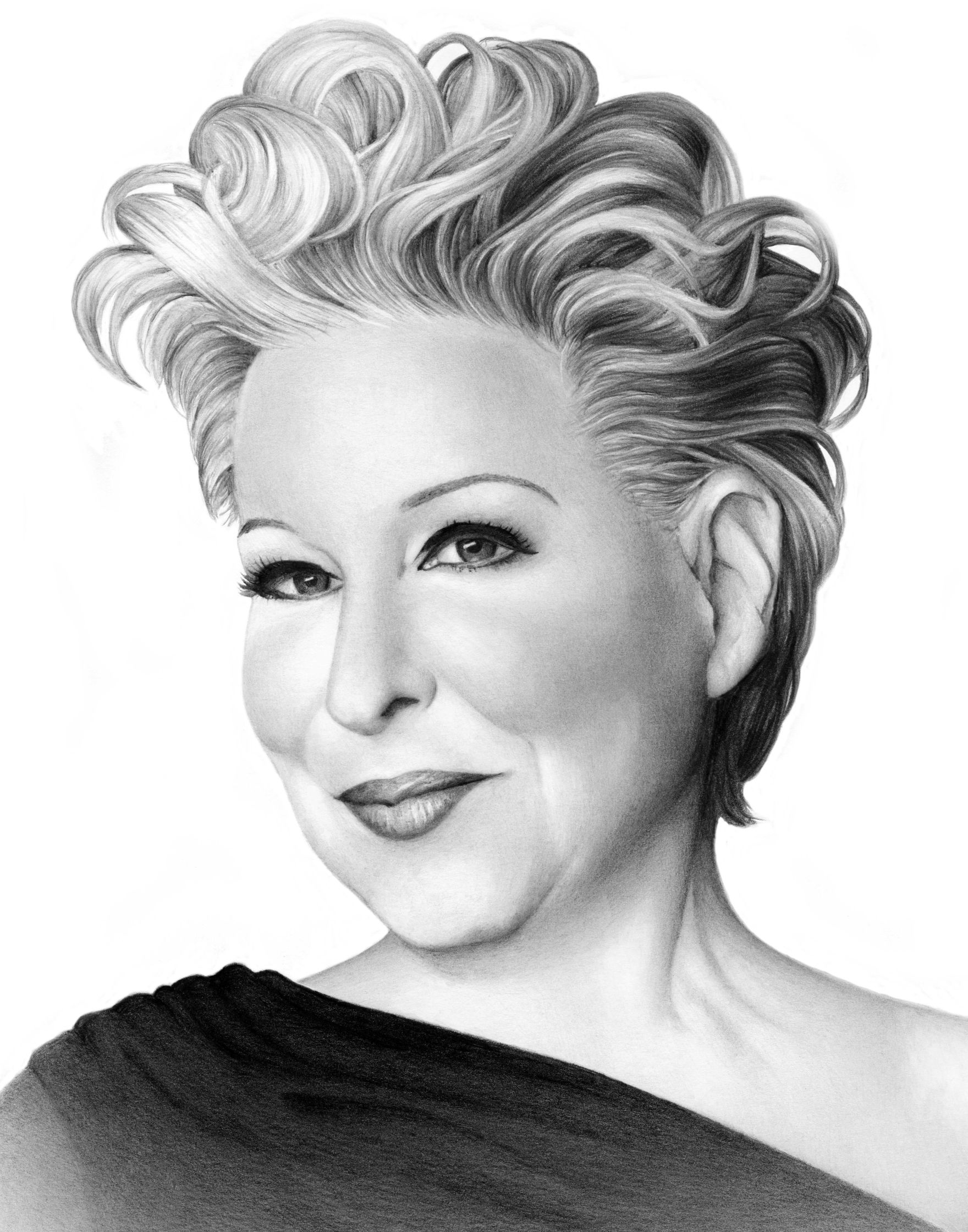 Bette midler cath riley debut art
