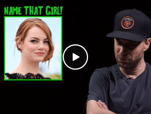 Comedian Jon Glazer tries to name as many girls as he possibly can (Video)