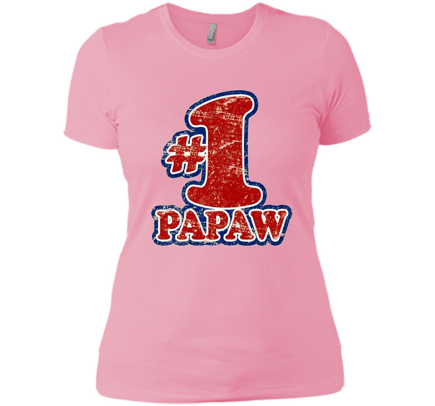 Men's #1 PaPaw T Shirt - Number One Father's Day Gift Tee