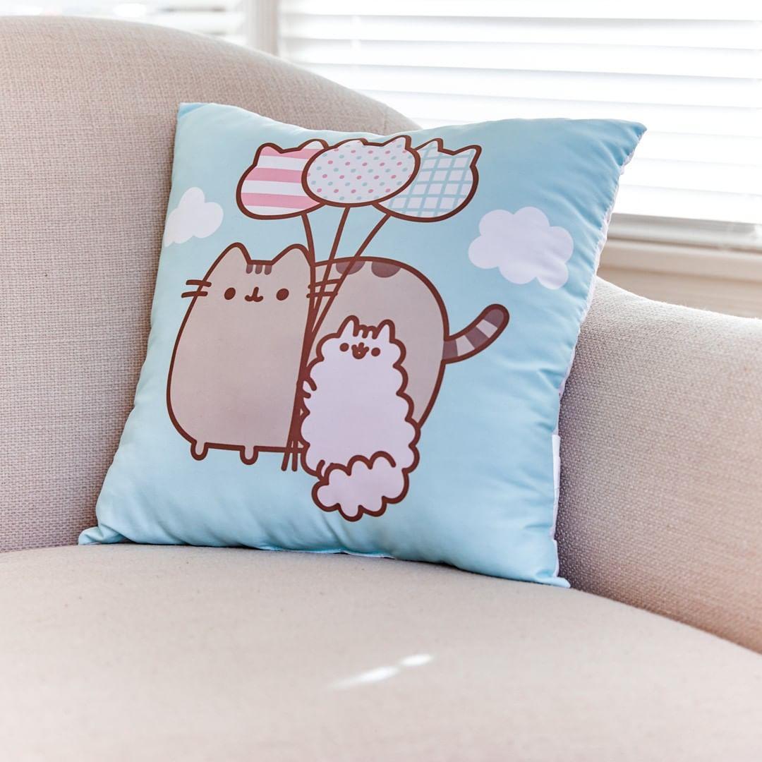 Pusheen Throw pillows, Pillows, Pusheen