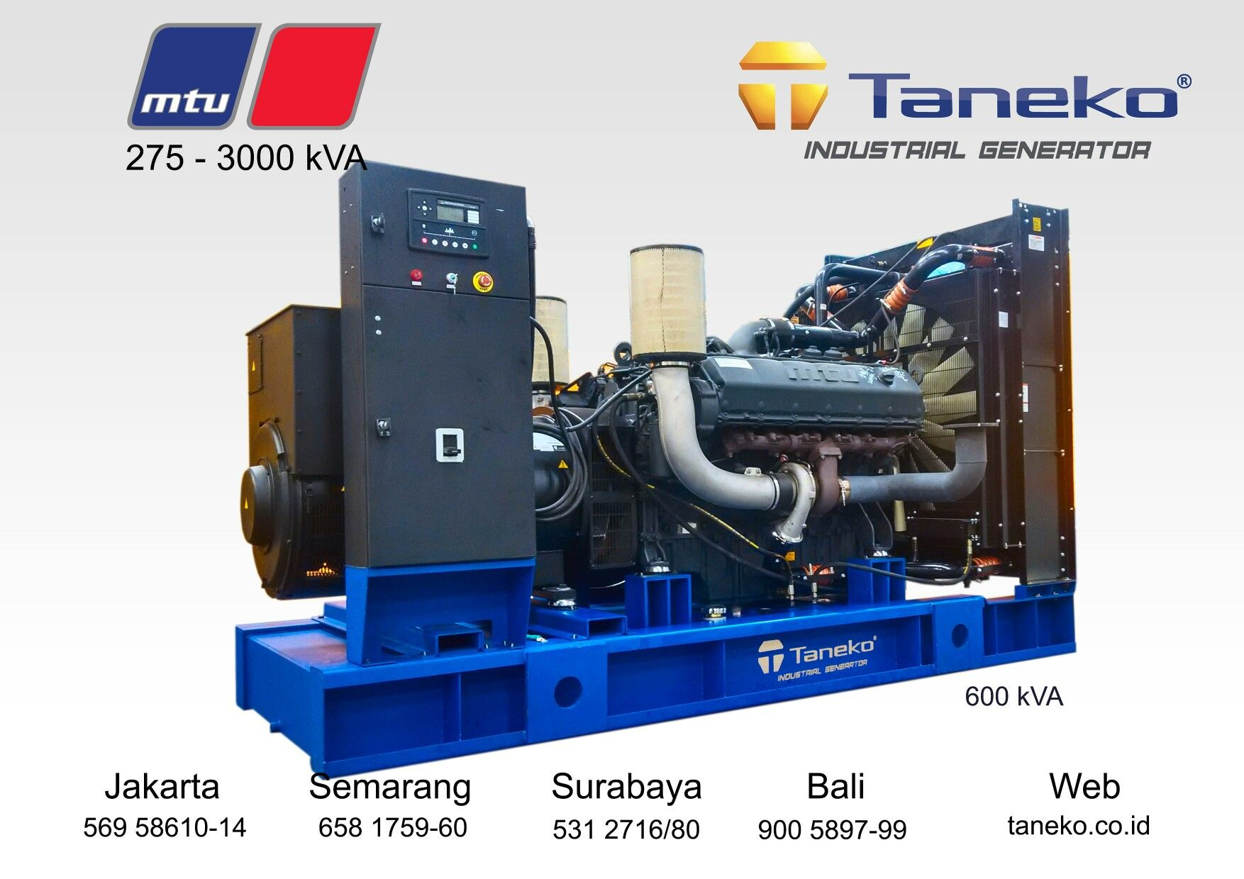 Weekend Post At Frame Mtu 12v 1600 G10f Coupled With Stamford Hc I 544 E 600 Kva Prime Power Quality Generator Product From Taneko For Your Industrial