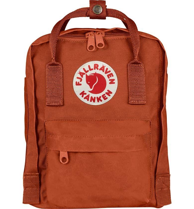 Fjallraven Mini Kanken Water Resistant Backpack Nordstrom Exclusive Color Nordstrom Kanken Mini Kanken Backpack Kanken