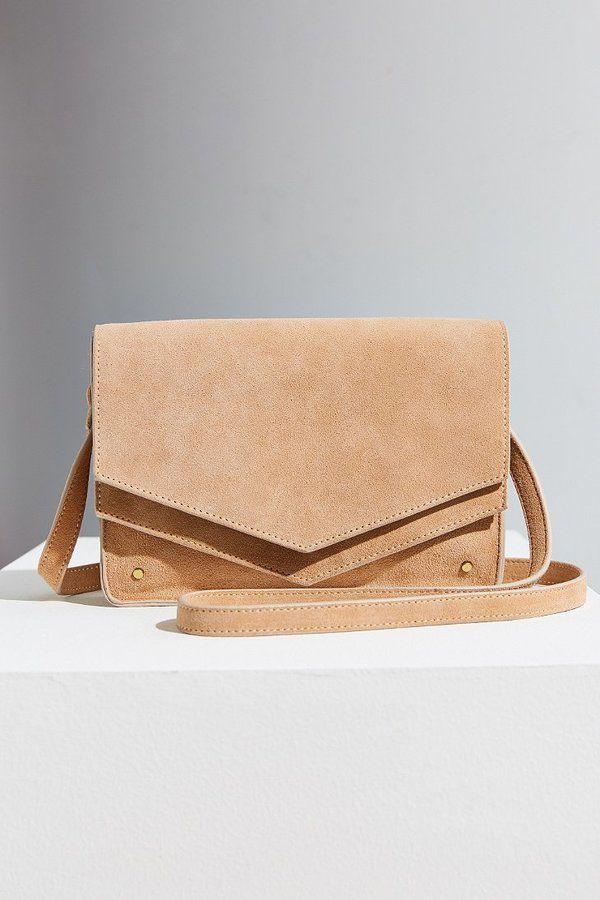43e8fd1b9610 Urban Outfitters - BDG Double Flap Crossbody Bag