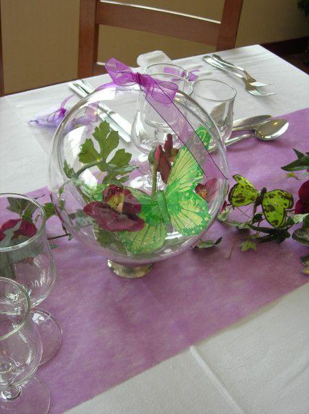 D co de table th me f erique th me papillon pinterest deco de table feerique et table - Decoration de table theme papillon ...