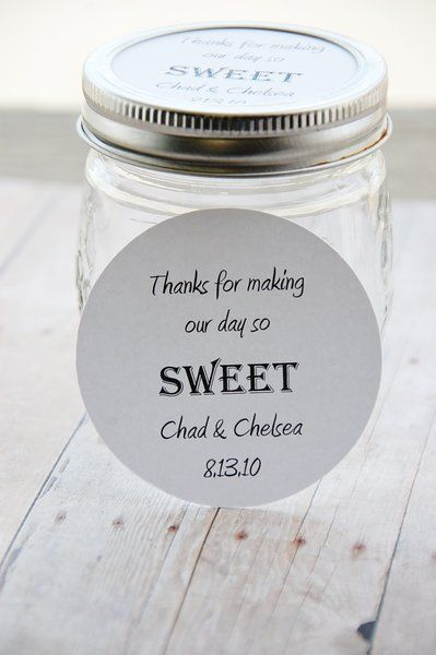 Mason Jar Topper Thanks For Making Our Day So Sweet Regular Or Wide Mouth Jar Label Wedding Or Baby Shower Thank You Gift Mason Jar Toppers 10