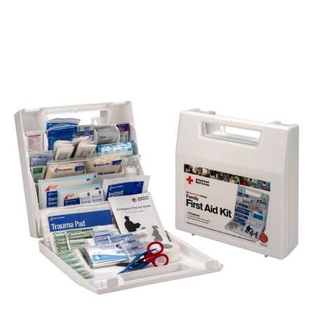 American Red Cross Deluxe Family First Aid Kit, Plastic Case