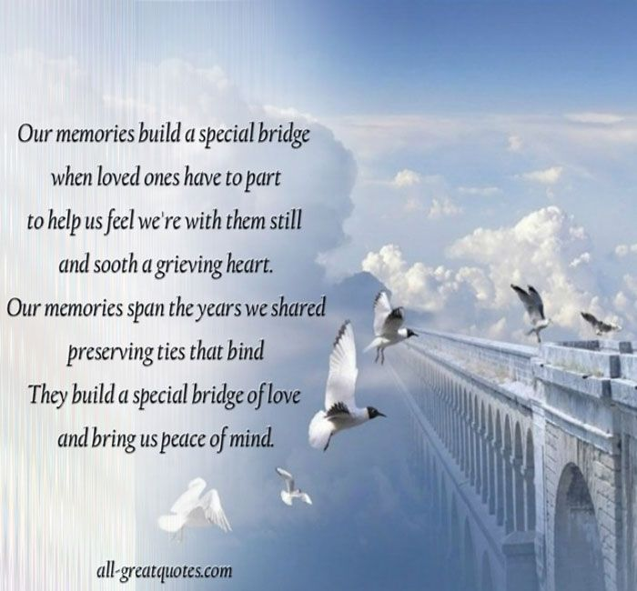 Poems about a loved one in heaven