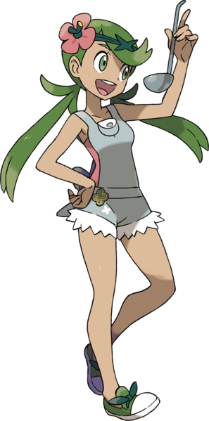 GRASS TYPE: Mallow - Trial Captain, Alola