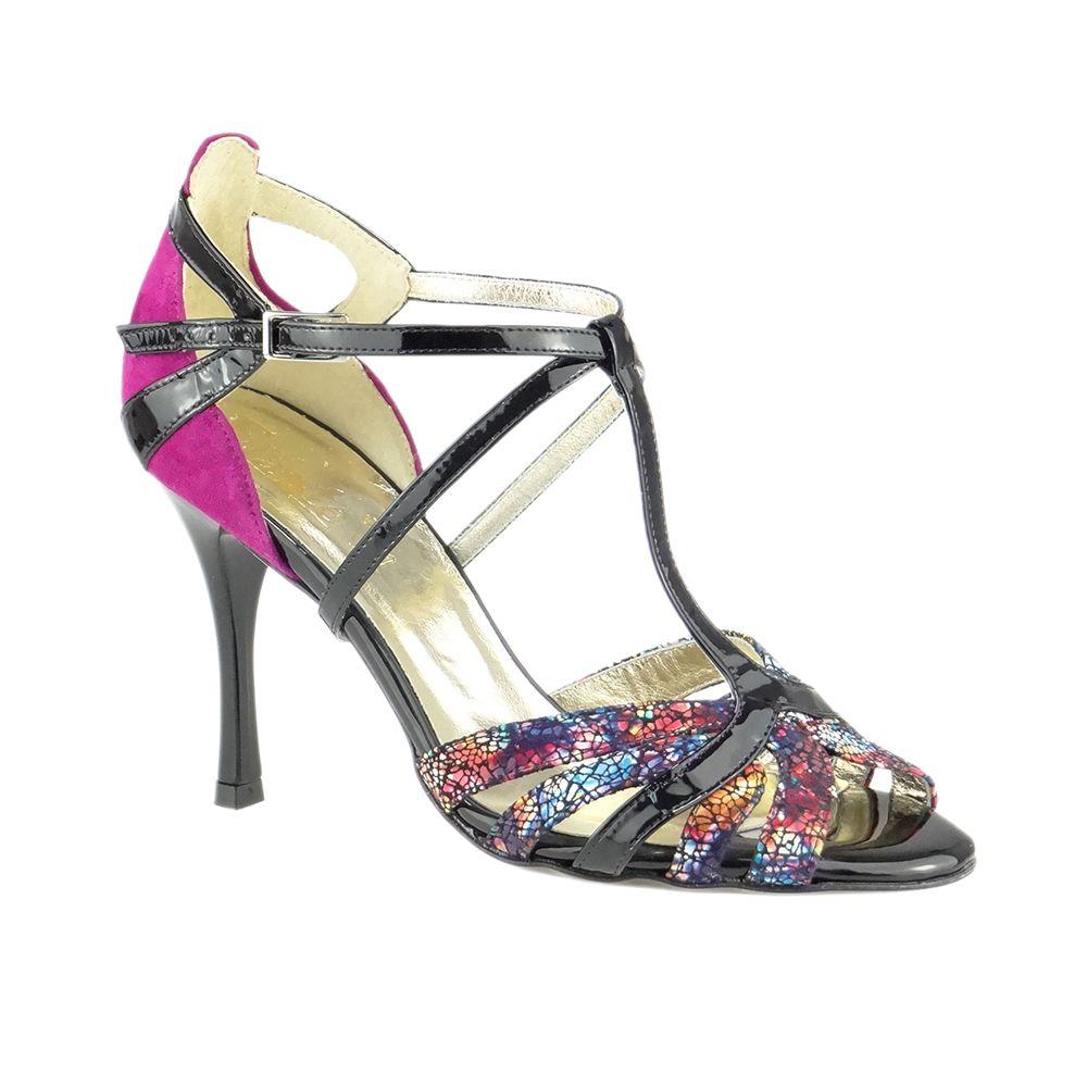 Buty Do Tanca Hemera Buty Do Tanca Salsy Kizomby Tango Latino Czubki Sa Zaokraglone Pieta Ozdobiona Z Wstawkami Zapiecie W Ks Shoes Sandals Fashion