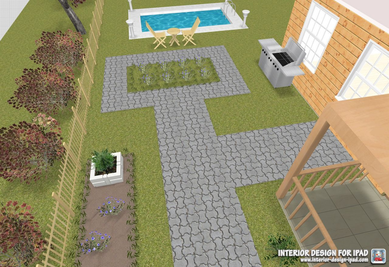 Check Out The Yard Space You Can Design With Our #interior