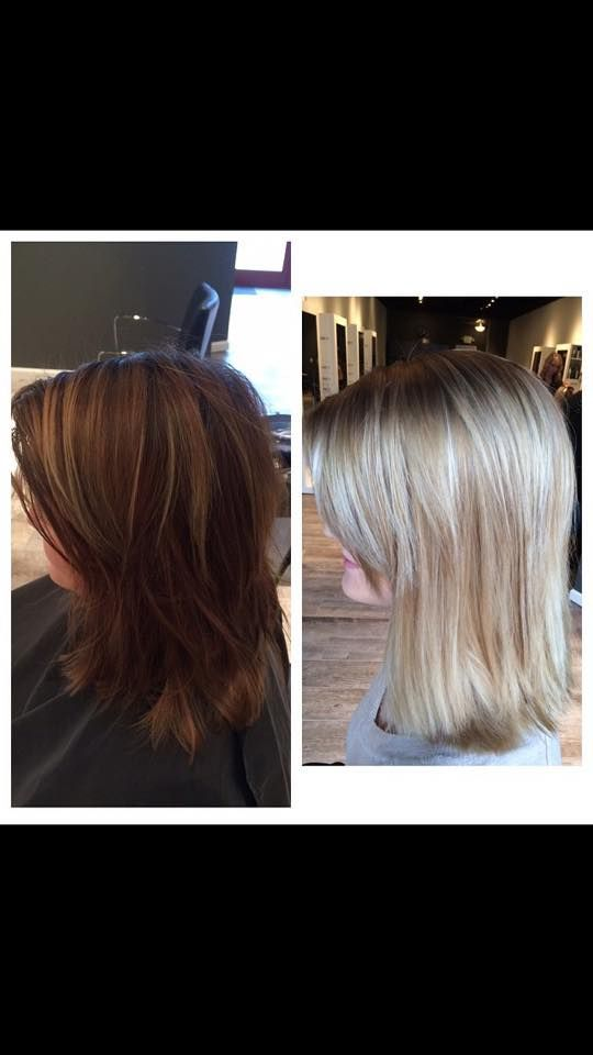#Blonde transformation  done by Abigail using traditional #foil and #balayage techniques. #rpsthesalon